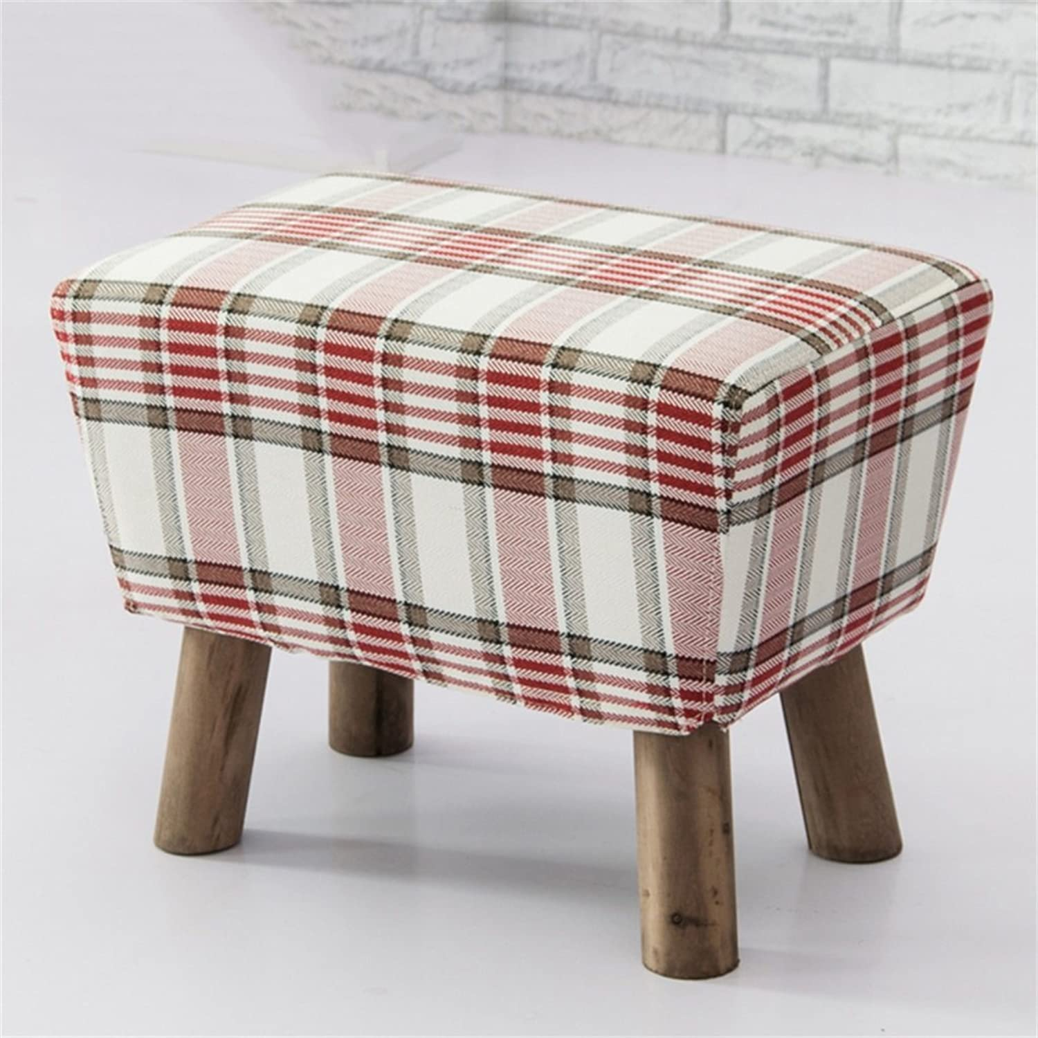 ZHBWJSH shoes Bench - Fabric Sofa Bench, Low Stool, Stool, Fashion Footstool (color     14)