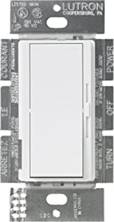 Lutron DVF-103P-WH Diva 1000-watt 3-Way 3-Wire Fluorescent Dimmer, White