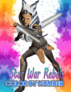 star war rebels Color by Number: Critics' Choice Television Award for Best Animated Series Nomination Film Illustration Co...