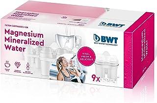 BWT Lot de 9Cartouches filtrantes Magnesium Mineralized Water Blanc 9Mois