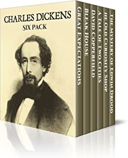 Charles Dickens Six Pack - The Old Curiosity Shop, David Copperfield, Bleak House, A Tale of Two Cities, Great Expectations and Edwin Drood (Illustrated) (Six Pack Classics Book 7)