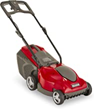 Mountfield Princess 34 Electric Lawnmower, 34cm cutting width, 1400W, Up to 50m², Includes 35L grass collector