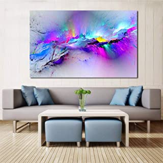 COODIO HOMEFashion Abstract Art on Canvas Painting Wall Art Picture Print Home Decor 30X45cm Photo Color