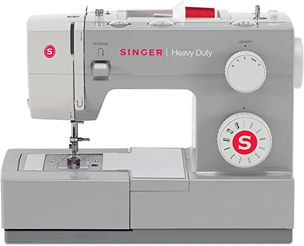 SINGER Heavy Duty 4411 Sewing Machine With 11 Built In Stitches Metal Frame And Stainless Steel Bedplate Great For Sewing All Fabrics