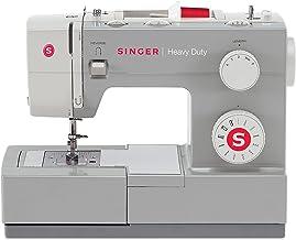 SINGER Heavy Duty Automatic sewing machine Eléctrico - Máquina de coser (Eléctrico, Pedal para ojales, Protectora, Automatic sewing machine, Costura, 4 Pasos, Variable)