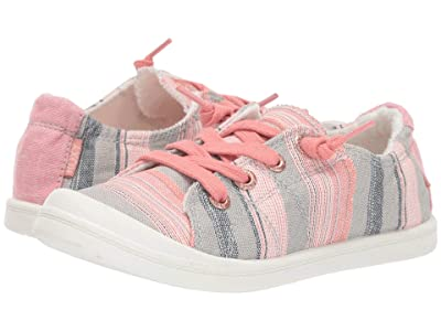 Roxy Kids Bayshore III (Little Kid/Big Kid) (Stripe Barely Pink) Girl