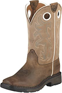 Kids' Workhog Wide Square Toe Tall Work Boot