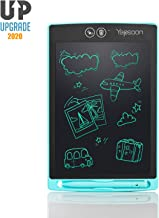YEPSOON LCD Writing Tablet 8.5 inch Electronic Writing & Drawing Doodle Board,Full&Partial Dual Erase Mode,Lock Screen Function, Portable Reusable Magnetic Notepad, Gift for Kids, New Version of 2019