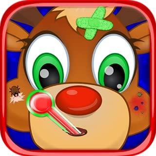 Christmas Pet Vet Doctor Animal Hospital - Santa's Helpers