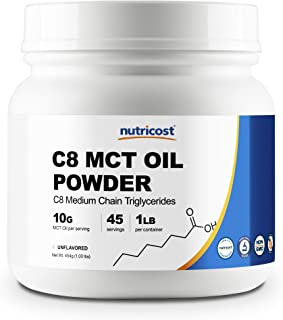 Best pure c8 mct powder Reviews