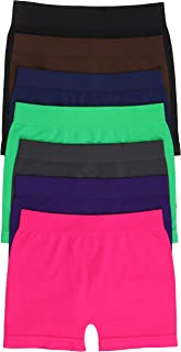 ToBeInStyle Women's 6 Pairs of Spandex Slimming Shaper Shorts