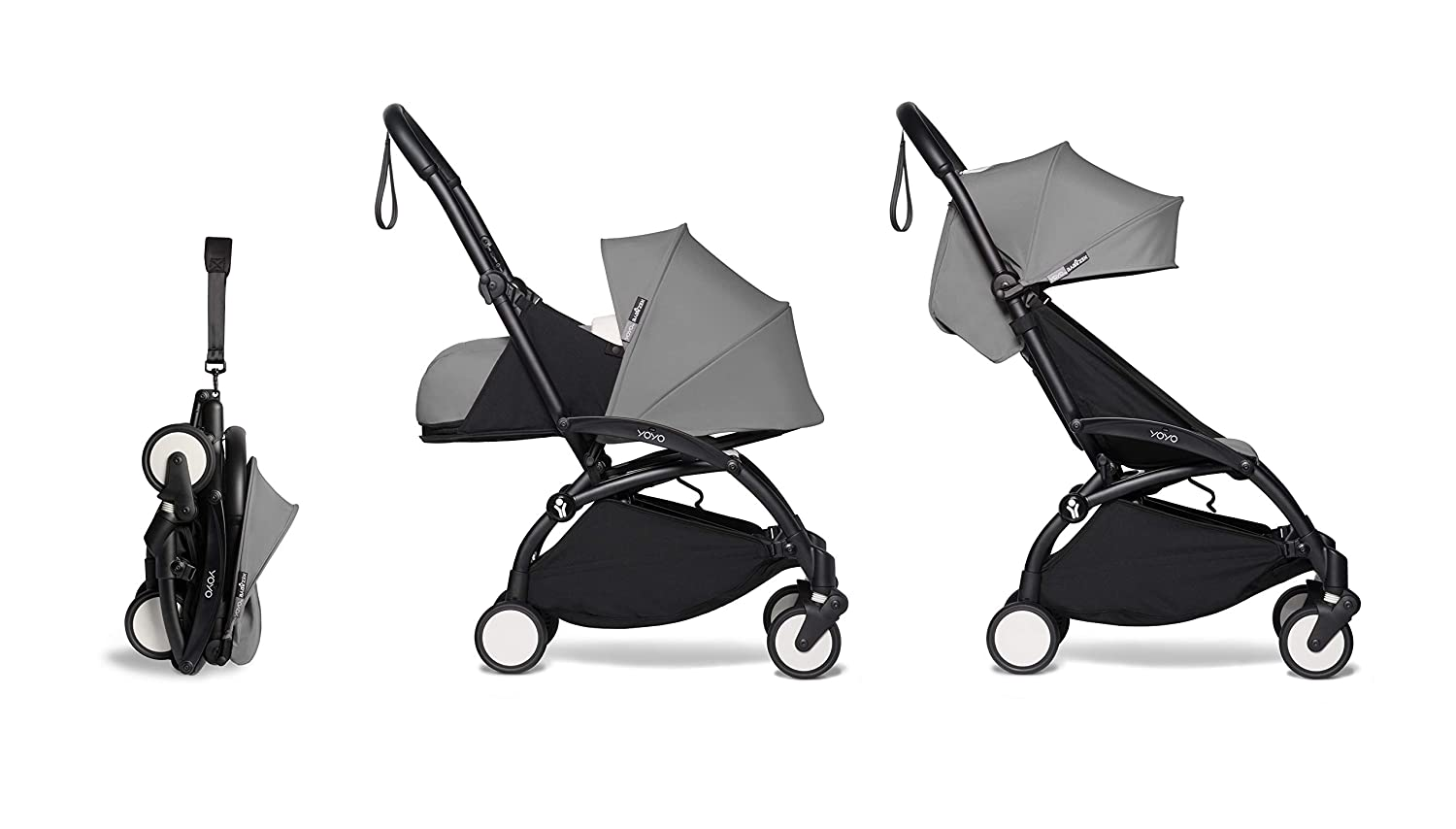 BABYZEN YOYO2 Complete 0+ and 6+ Fort Worth Mall Black Gre Frame Max 59% OFF with - Stroller