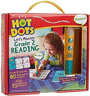 Educational Insights Hot Dots Let's Master 2nd Grade Reading Set, Interactive Workbooks, 100 Reading Lessons, Ages 7+