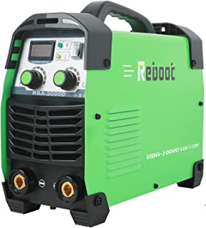 Reboot Stick Welder,110V/220V Portable Stick Welding Machine Multifunction 170AMP MMA Lift Tig Inverter Dual Volts Arc Welding Machine 1/16~5/32in for Home Usage Welding Equipment
