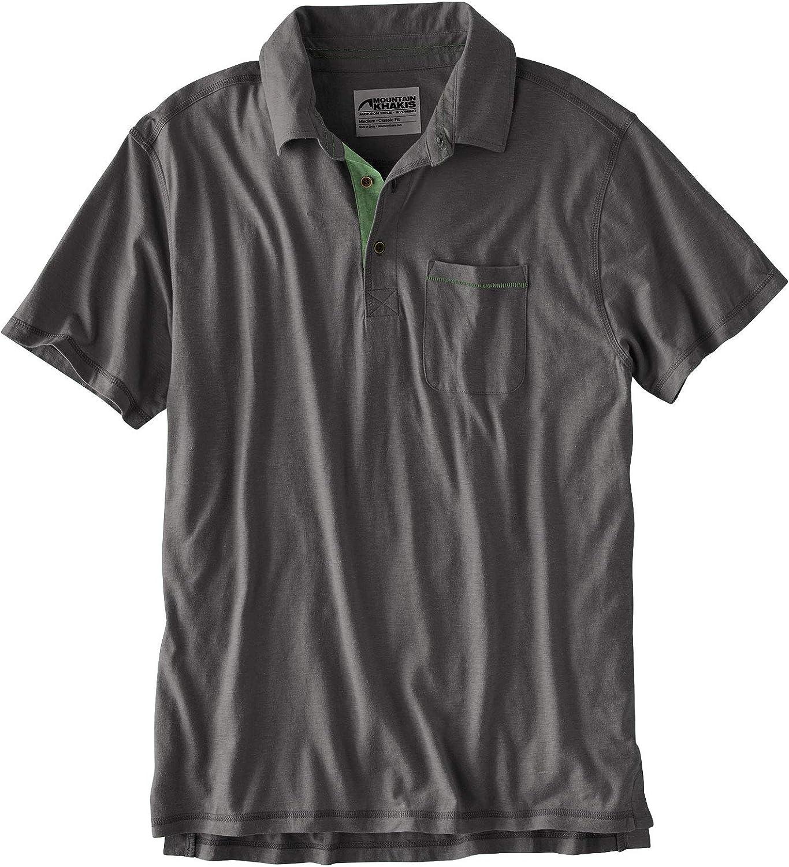 Mountain Khakis Hutch Polo Shirt Slate SM