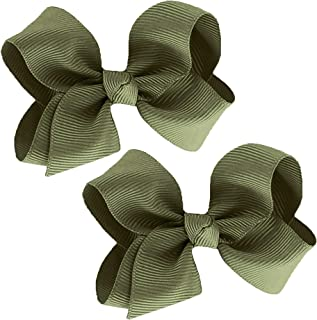 Best army green hair bow Reviews
