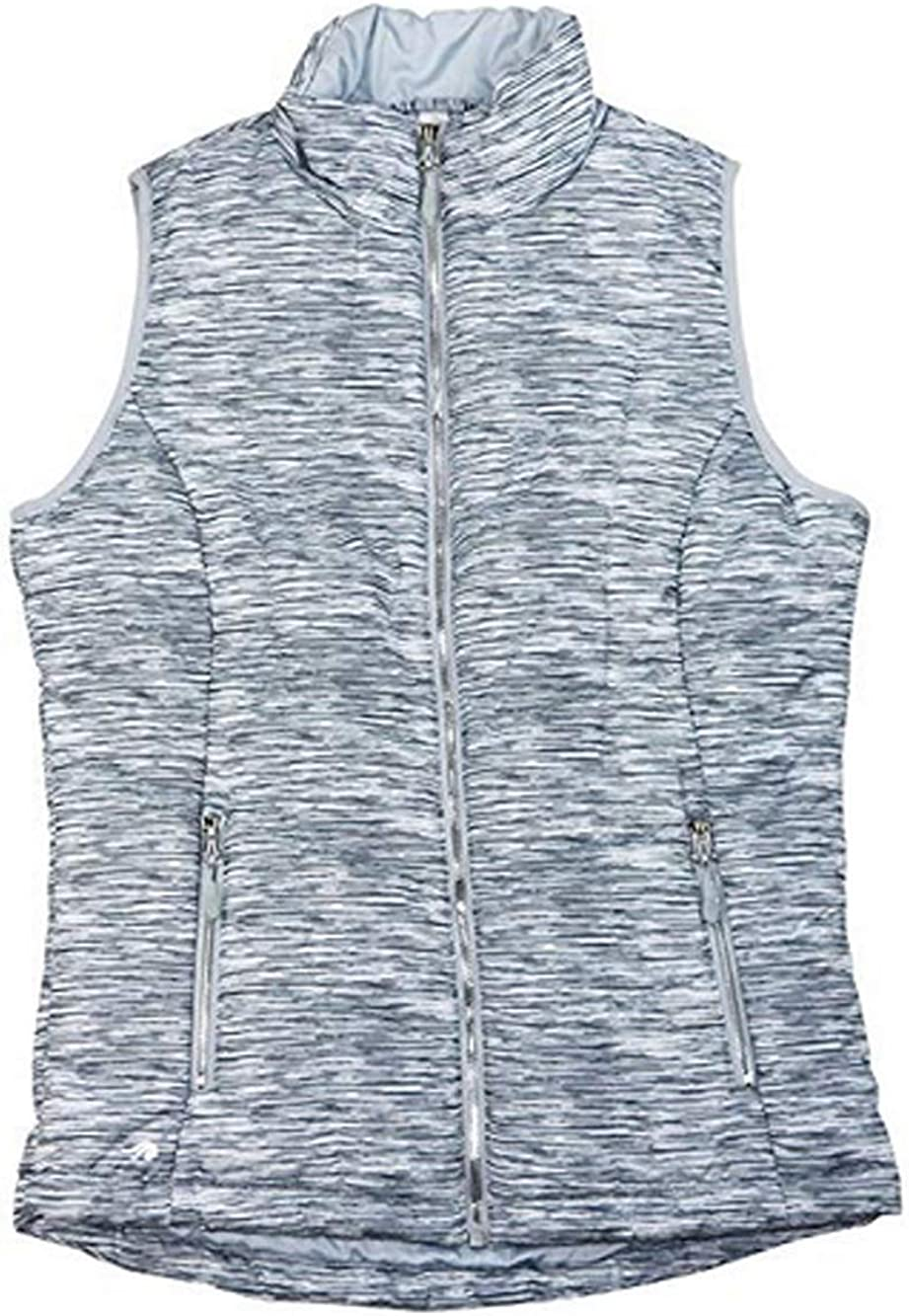 Ideology Womens Quilted Space-Dyed Outerwear Vest, Winter White SD, XX-Large