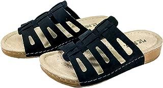 Fly Soft Women S902.001 T-Strap Flip Flop Sandals