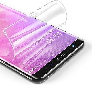 RIWNNI [3 Pezzi Pellicola Protettiva per Samsung Galaxy S9, Ultra Sottile Morbido TPU Pellicola Copertura Completa Protezi...