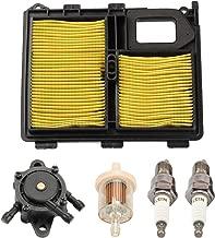 Panari 17010-ZJ1-000 Air Filter + Fuel Pump Spark Plug for Honda GX610 GX620 GVX610 GXV620 17218-ZJ1-000 17211-ZJ1-000