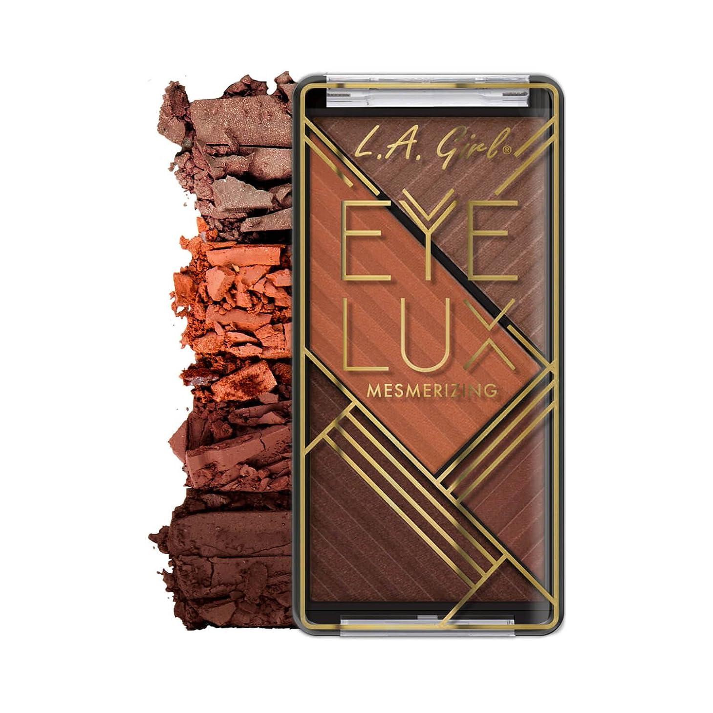 年朝ごはん嫌がらせL.A. GIRL Eye Lux Mesmerizing Eyeshadow - Energize (並行輸入品)
