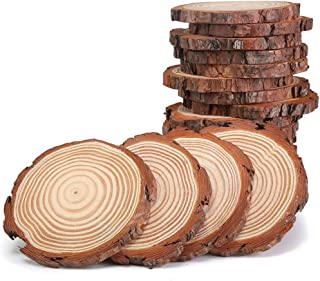 Best rustic wood slices for sale Reviews