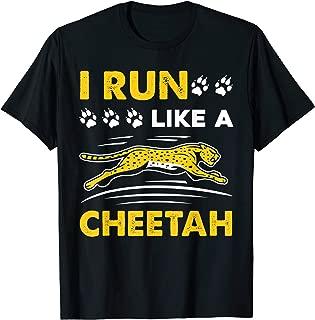 like a cheetah