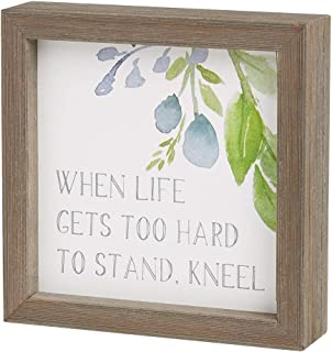 when life gets hard to stand kneel