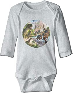 Arromper Cute Unicorn Corgi Boys /& Girls Long Sleeve Romper Bodysuit Outfits Black