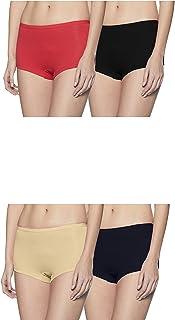Rupa Softline Women's Cotton Boy Shorts (Pack of 6)