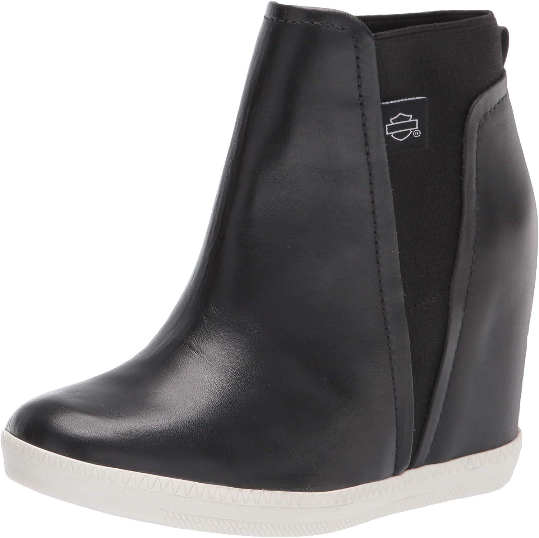 Harley-Davidson Women's Parkdale Slip-On Black Fashion Boots, D84677