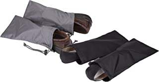 2 Pairs of 2 Shoe Covers, Black