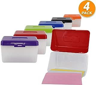 Best index card box plastic Reviews