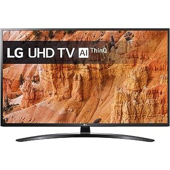 "LG TV LED 4K AI Ultra HD,55UM7400PLB, Smart TV 55"", 4K Active HDR"