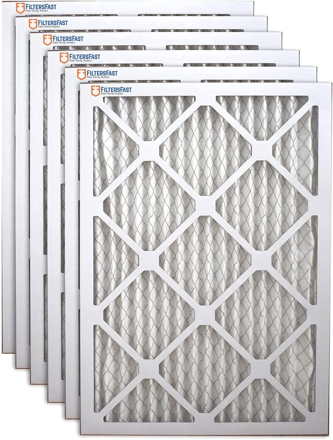 Filters Fast 12x30x1 Air Filter Max 62% OFF MERV Furnace 1