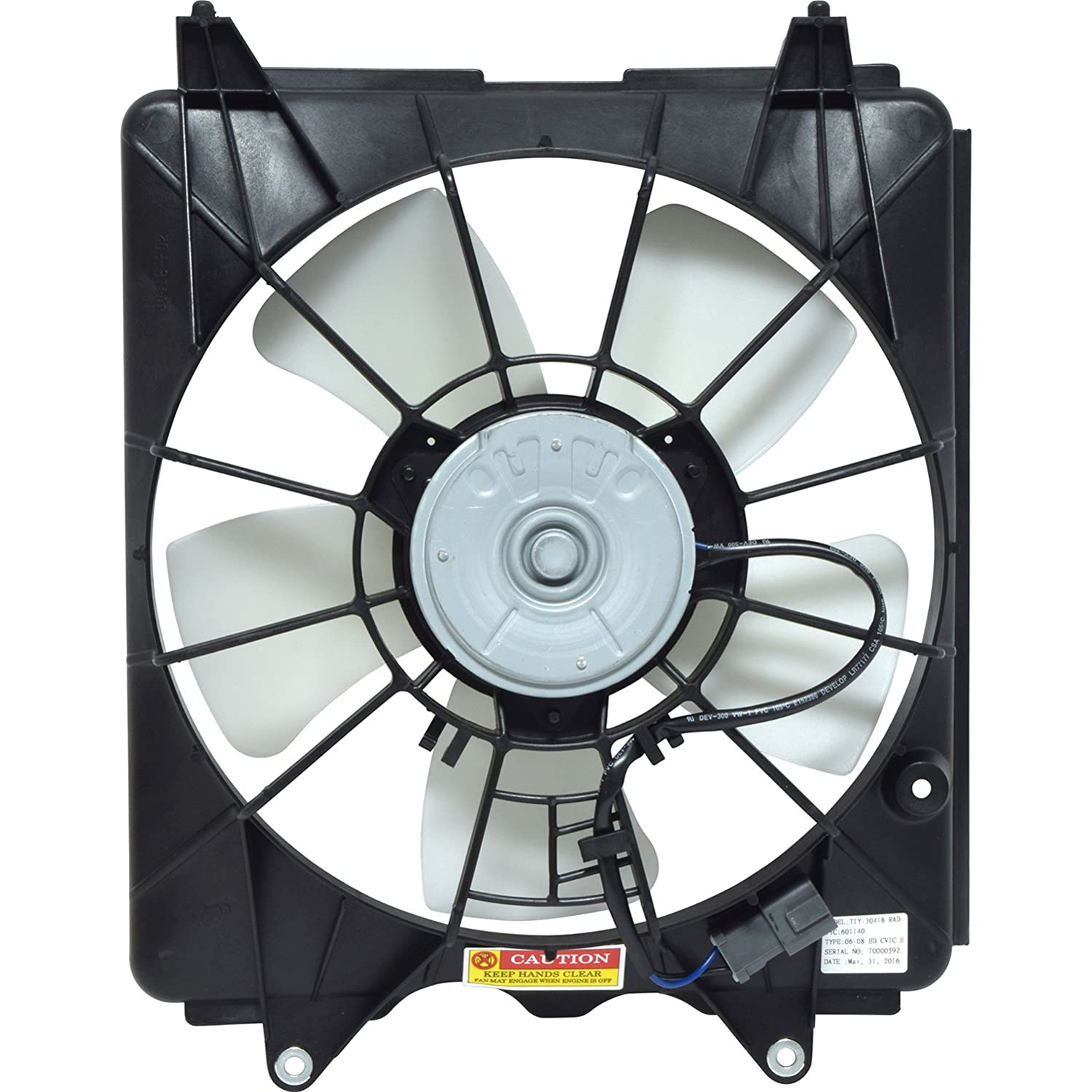 Universal Air Conditioner FA 50111C A/C Condenser Fan Assembly