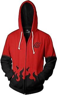 FashionHoodie.W Unisex 3D Print Anime Zipper Hoodie Sweatshirts Hooded Shirts S-XXXL