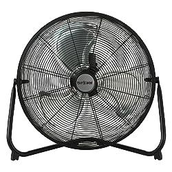 Hurricane Floor Fan High Velocity, Heavy Duty Metal Floor Fan