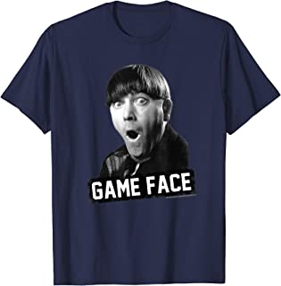 TTS- The Three Stooges Moe: Game Face T-Shirt