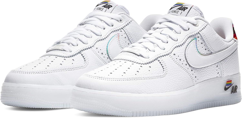 Amazon.com | Nike Air Force 1 Low Be True 2020 Mens Cv0258 100 ...