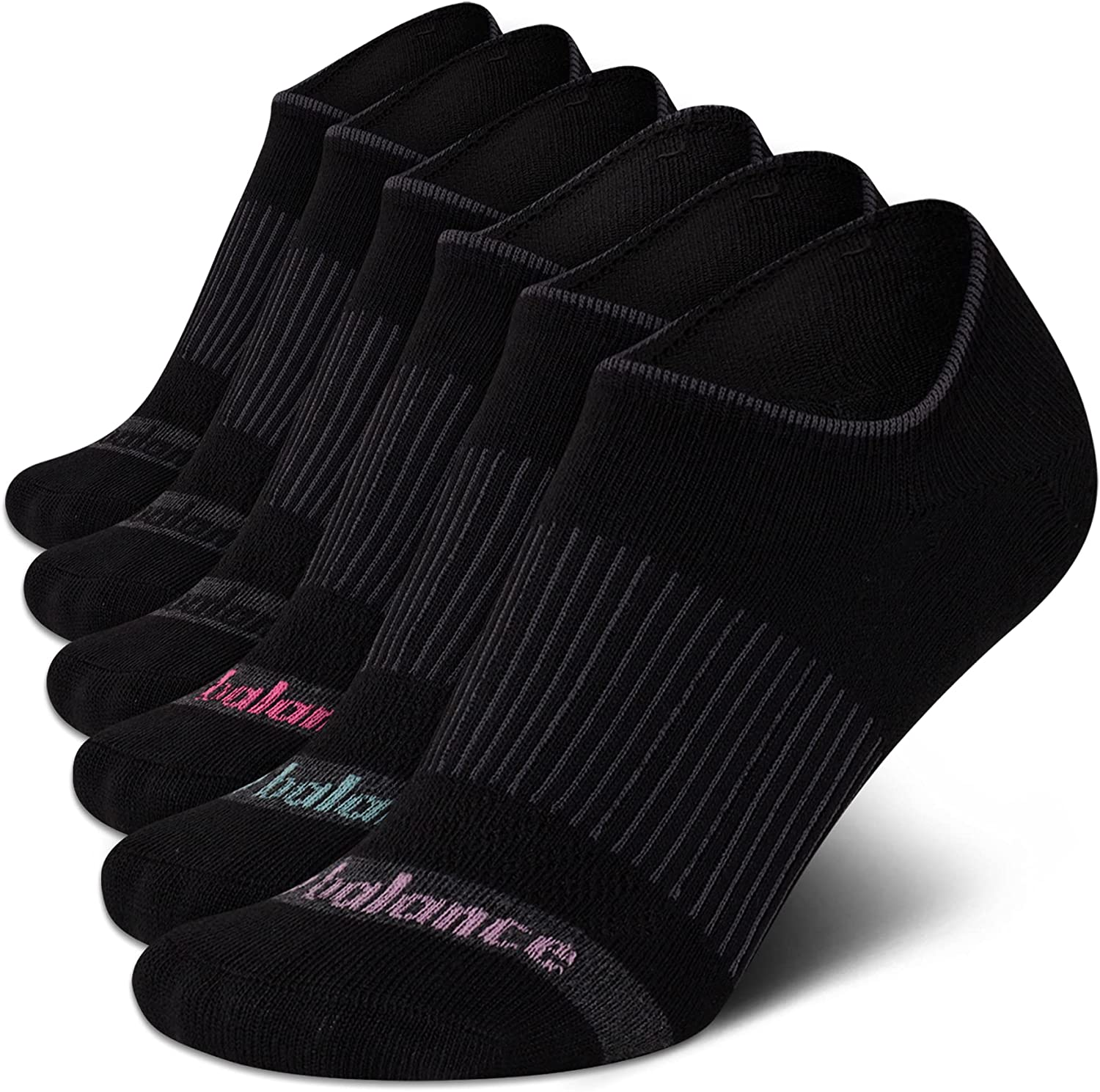 New Balance Women's Socks - Low Cut No Show Ankle Sock Liners (6 Pack)