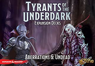 """Dungeons & Dragons - Tyrants of the Underdark """"Aberrations & Undead"""" Game Expansion"""