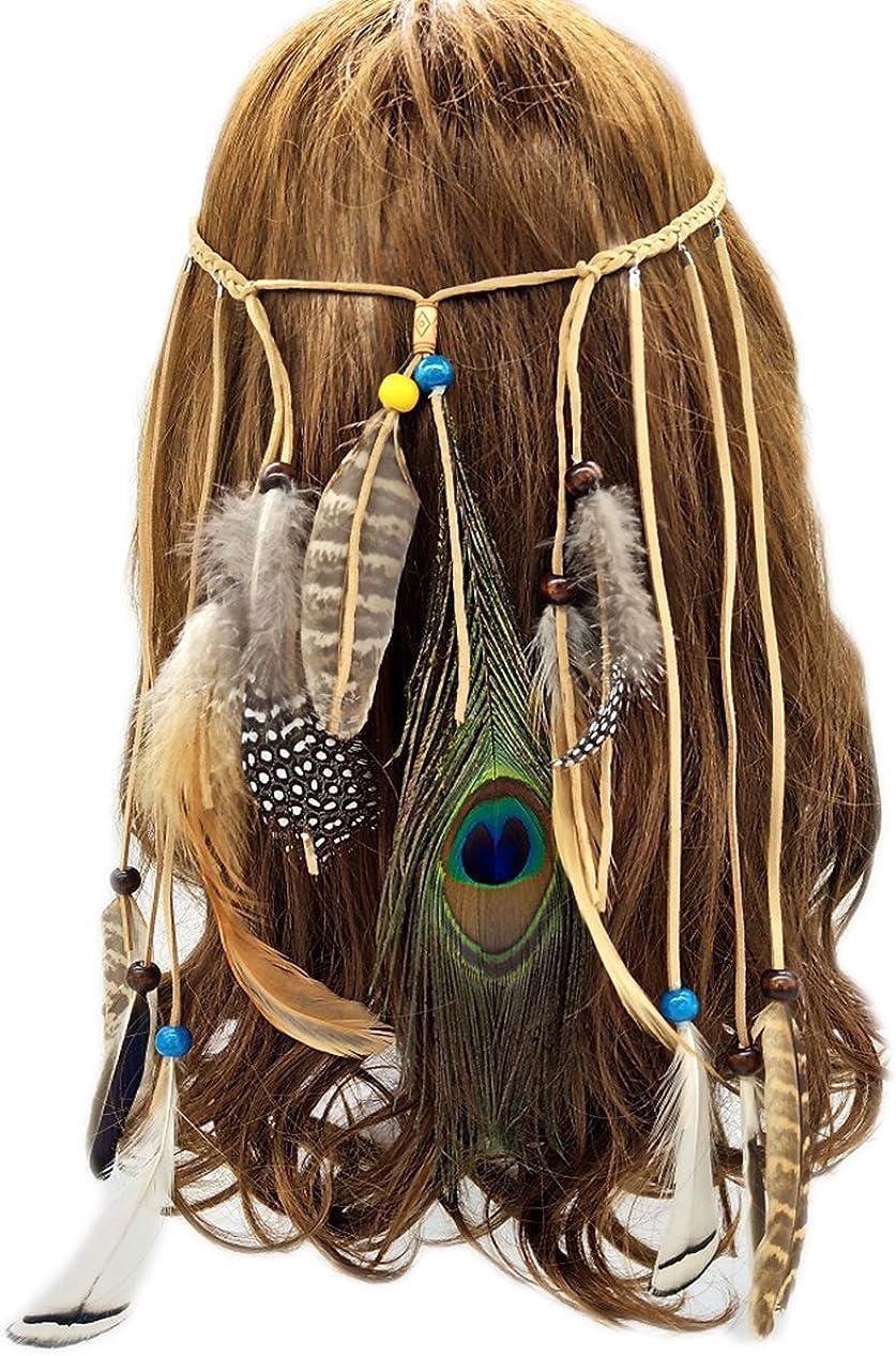 Home-organizer Tech Boho Feather It is very popular Popular brand in the world Wedding Fascinator Hea Headband