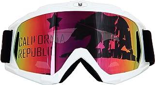 618ca41e802c Mortaliwear Snow Skiing Snowboarding Motocross ATV BMX Anti-Fog Goggles  Unisex for Kids to Adults