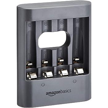 """AmazonBasics - Caricabatterie USB, """"Overnight"""", nero"""