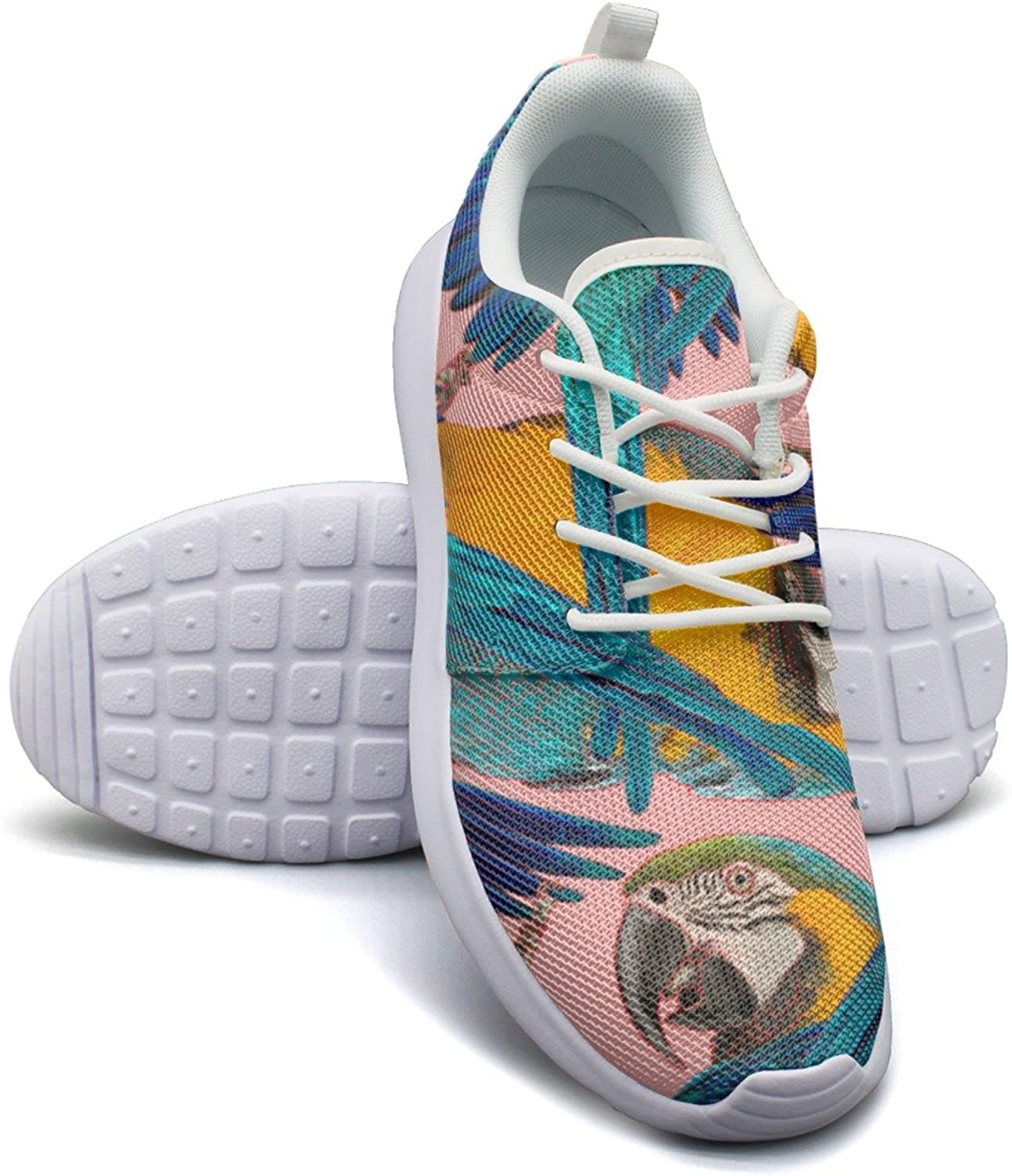 ERSER Tropical Parred Birds Running shoes for Women 2018