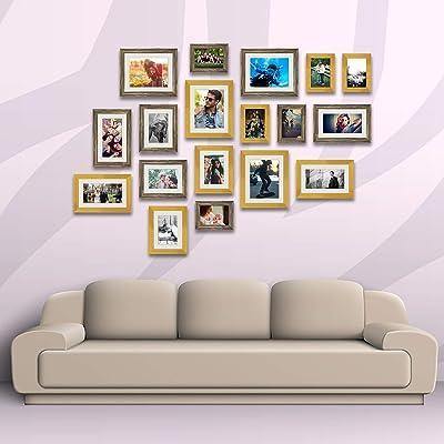 ArtzFolio Wall Photo Frame D343 Multicolor 4x6-6pc;6x8-4pc;6x10-4pc;8x10-4pc;Set of 18 PCS