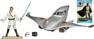 Star Wars Fleet Class I Deluxe Naboo Royal Fighter with OBI-WAN Kenobi