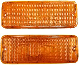 A-Team Performance Front Turn Signal Lights Compatible With 73 74 75 76 77 FORD F-150 F150 F250 F350 Truck, Amber