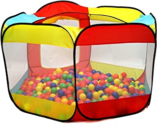 Kiddey Ball Pit Play Tent for Kids – 6-Sided Ball Pit for Kids Toddlers and Baby..